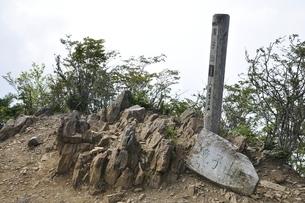 山梨百名山 滝子山の写真素材 [FYI03408609]