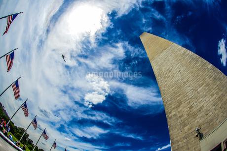 ワシントン記念塔(ワシントンDC)のイメージの写真素材 [FYI03408861]