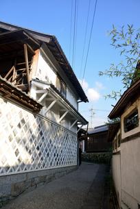 岩村町なまこ壁の写真素材 [FYI03409157]