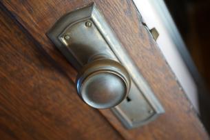 ドアの取っ手の写真素材 [FYI03409185]
