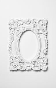 白い額縁の写真素材 [FYI03409233]
