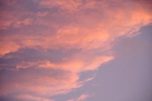 朝焼け雲の写真素材 [FYI03409271]