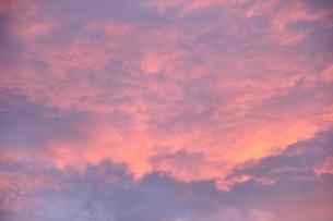 朝焼け雲の写真素材 [FYI03409272]