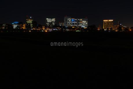夜のお台場の写真素材 [FYI03409517]