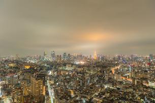東京の夜景の写真素材 [FYI03409808]