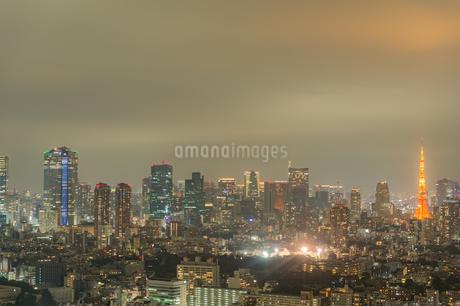 東京の夜景の写真素材 [FYI03409809]