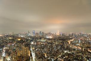 東京の夜景の写真素材 [FYI03409813]