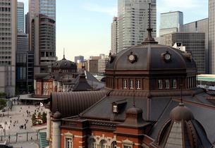 KITTE展望台から見る東京駅丸の内駅舎のドームの写真素材 [FYI03409859]