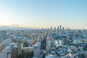 文京区から見た東京の夕暮れの写真素材 [FYI03410314]