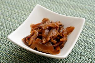 干し椎茸の煮物の写真素材 [FYI03410412]