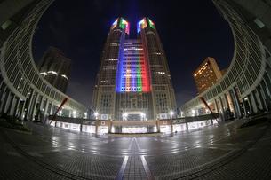 都庁 日本 東京都 新宿区の写真素材 [FYI03410447]