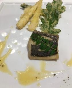 魚料理①の写真素材 [FYI03410682]