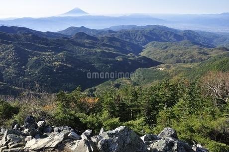 大ナギより富士山の写真素材 [FYI03410785]