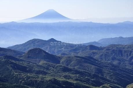 朝日岳より富士山の写真素材 [FYI03410809]