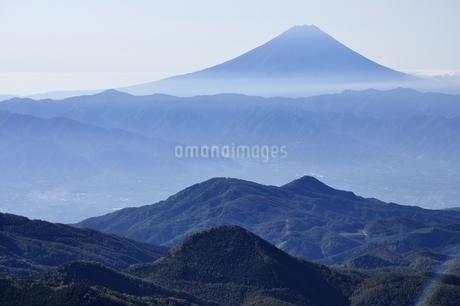 朝日岳より富士山の写真素材 [FYI03410810]
