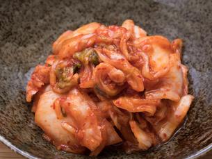 白菜のキムチの写真素材 [FYI03411122]