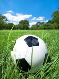 サッカーボールの写真素材 [FYI03411144]