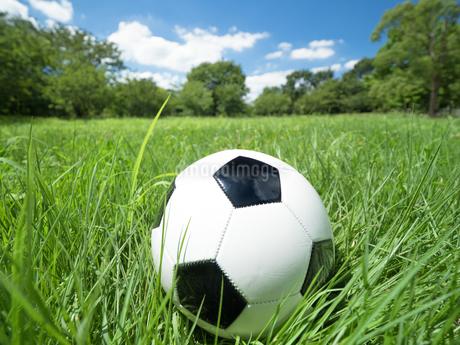 サッカーボールの写真素材 [FYI03411145]