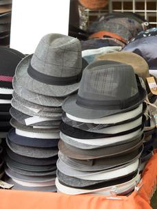 帽子店の店先の写真素材 [FYI03411208]