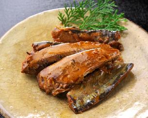 秋刀魚の蒲焼の写真素材 [FYI03411350]