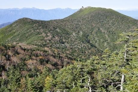 奥秩父山塊の金峰山と南アルプスの写真素材 [FYI03411423]