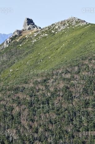 奥秩父山塊 金峰山の写真素材 [FYI03411427]