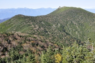 金峰山と南アルプスの写真素材 [FYI03411431]
