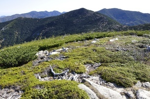 金峰山 賽ノ河原からの眺めの写真素材 [FYI03411434]