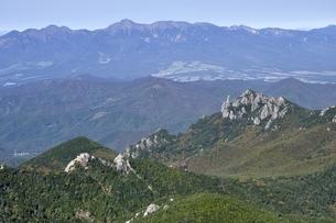 金峰山より八ヶ岳連峰と瑞牆山の写真素材 [FYI03411445]