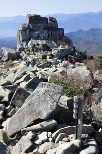 金峰山の五丈岩の写真素材 [FYI03411469]