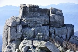 金峰山 五丈岩の岩峰の写真素材 [FYI03411472]