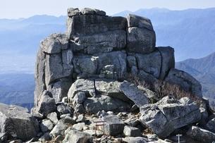 金峰山の五丈岩の写真素材 [FYI03411476]