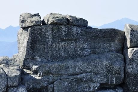 金峰山 五丈岩の岩峰の写真素材 [FYI03411486]