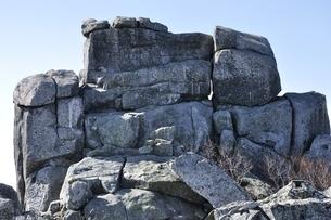 金峰山 五丈岩の岩峰の写真素材 [FYI03411487]