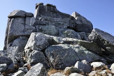 金峰山 五丈岩の岩峰の写真素材 [FYI03411492]