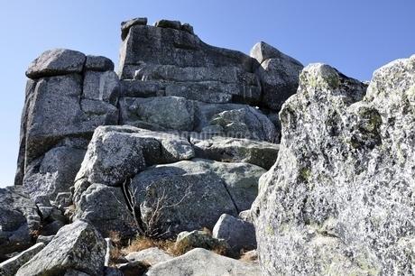 金峰山 五丈岩の岩峰の写真素材 [FYI03411493]