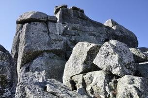 金峰山 五丈岩の岩峰の写真素材 [FYI03411494]