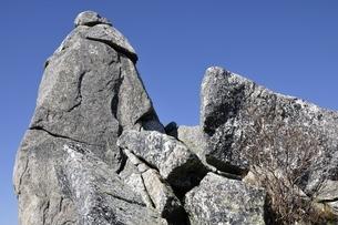 金峰山 五丈岩の岩峰の写真素材 [FYI03411500]