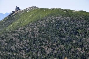 日本百名山 奥秩父山塊の金峰山の写真素材 [FYI03411514]
