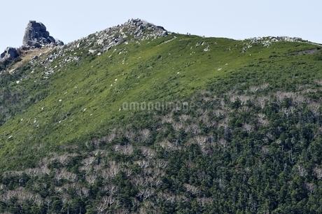 日本百名山の奥秩父山塊 金峰山の写真素材 [FYI03411539]