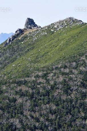 日本百名山の奥秩父山塊 金峰山の写真素材 [FYI03411546]