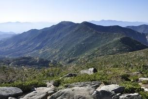 北奥千丈岳より展望写真の写真素材 [FYI03411776]