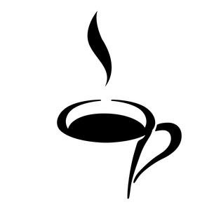 カフェのアイコンのイラスト素材 [FYI03412157]