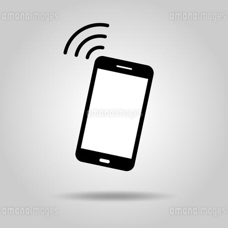スマートフォンアイコン 通信の写真素材 [FYI03412160]