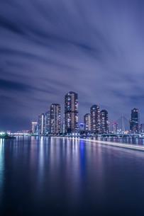 永代橋からの眺め 日本 東京都 江東区の写真素材 [FYI03412221]
