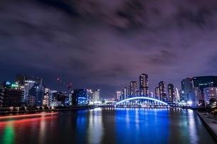 永代橋 日本 東京都 江東区の写真素材 [FYI03412223]