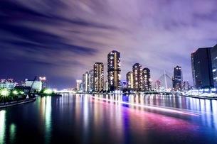 永代橋からの眺め 日本 東京都 江東区の写真素材 [FYI03412226]