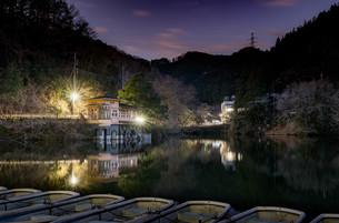 鎌北湖 日本 埼玉県 毛呂山町の写真素材 [FYI03412228]