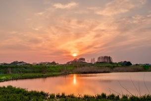 さきたま古墳公園 日本 埼玉県 行田市の写真素材 [FYI03412236]