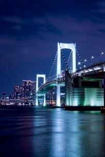レインボーブリッジ 日本 東京都 港区の写真素材 [FYI03412256]
